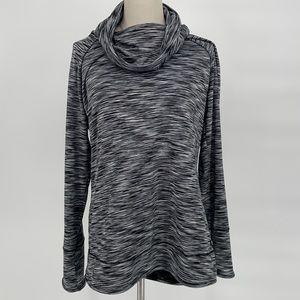 Marc New York ladies cowl neck long sleeve sweater